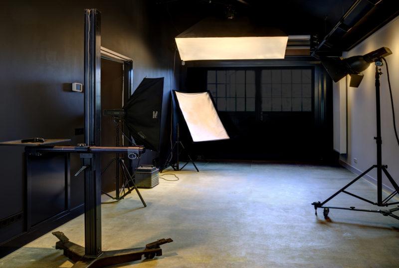 Modern ingerichte Fotostudio Loek van Walsem Prins Bernhardlaan 41 Soest