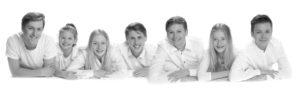 zwart wit portret; fotostudio ; fotograaf; fotograaf soest; fotograaf utrecht; portret fotografie; kinder portret; familie portret; gezinsfoto; familiefoto